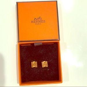 Hermes Cage d 'H Earrings